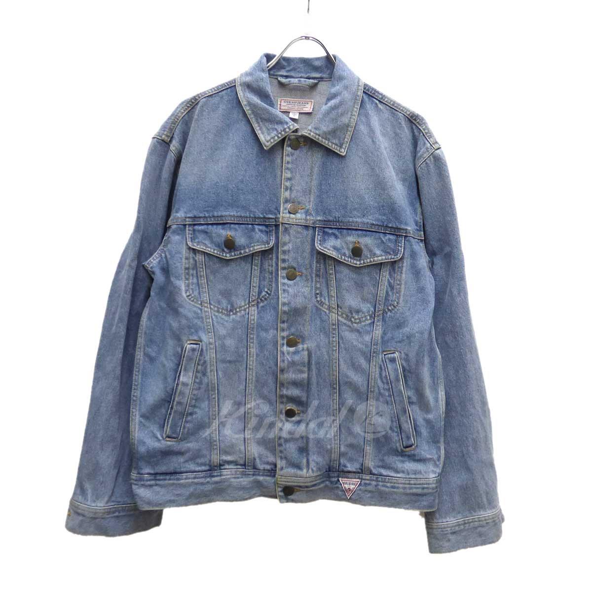【中古】GUESS デニムジャケット ライトインディゴ サイズ:M 【010220】(ゲス)