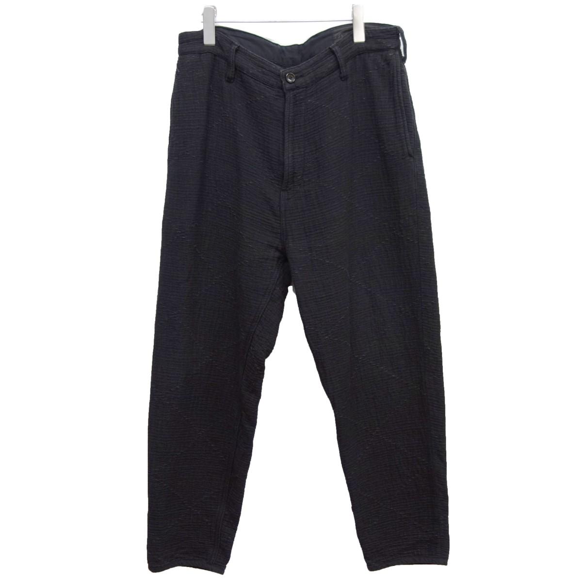 【中古】Porter Classic「SASHIKO KENDO PANTS」刺し子剣道パンツ ブラック サイズ:M【2月24日見直し】