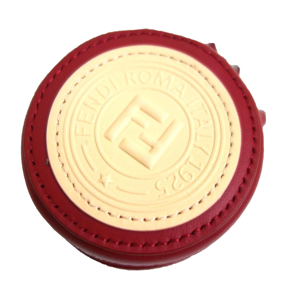 【中古】FENDI7AR721 ポケッタブルトートバッグ付き バッグチャーム レッド サイズ:-
