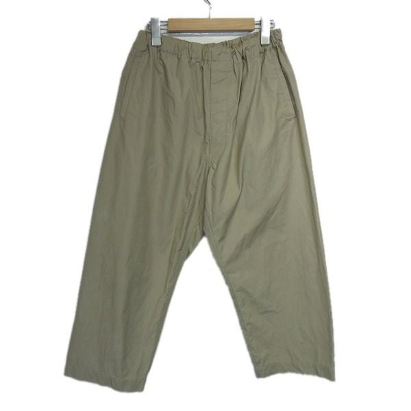 【中古】KAPTAIN SUNSHINE 「Athletic Easy Pants」コットンイージーパンツ ベージュ サイズ:30 【030220】(キャプテンサンシャイン)