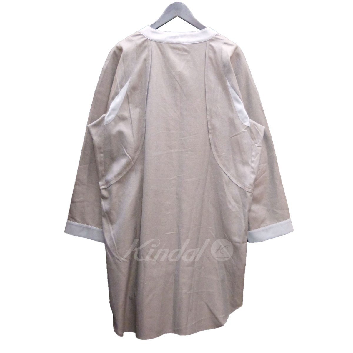 Kiko Kostadinov プルオーバーロングシャツジャケット ブラウン サイズ S060220キコ コスタディノフuJTKl15c3F