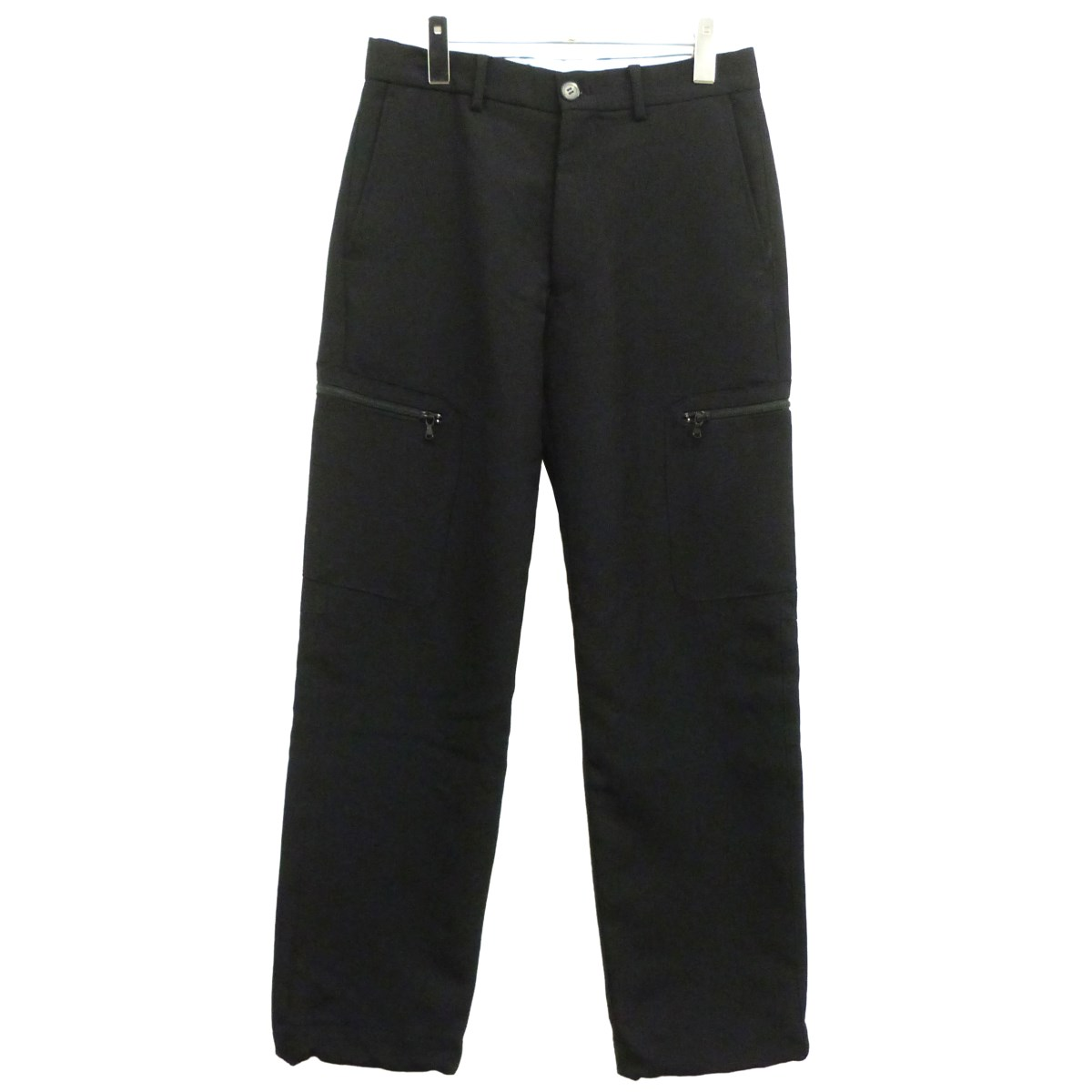【中古】ALLEGE 19AW「Wool Side Pocket Pants」ウールサイドポケットパンツ ブラック サイズ:1 【060220】(アレッジ)