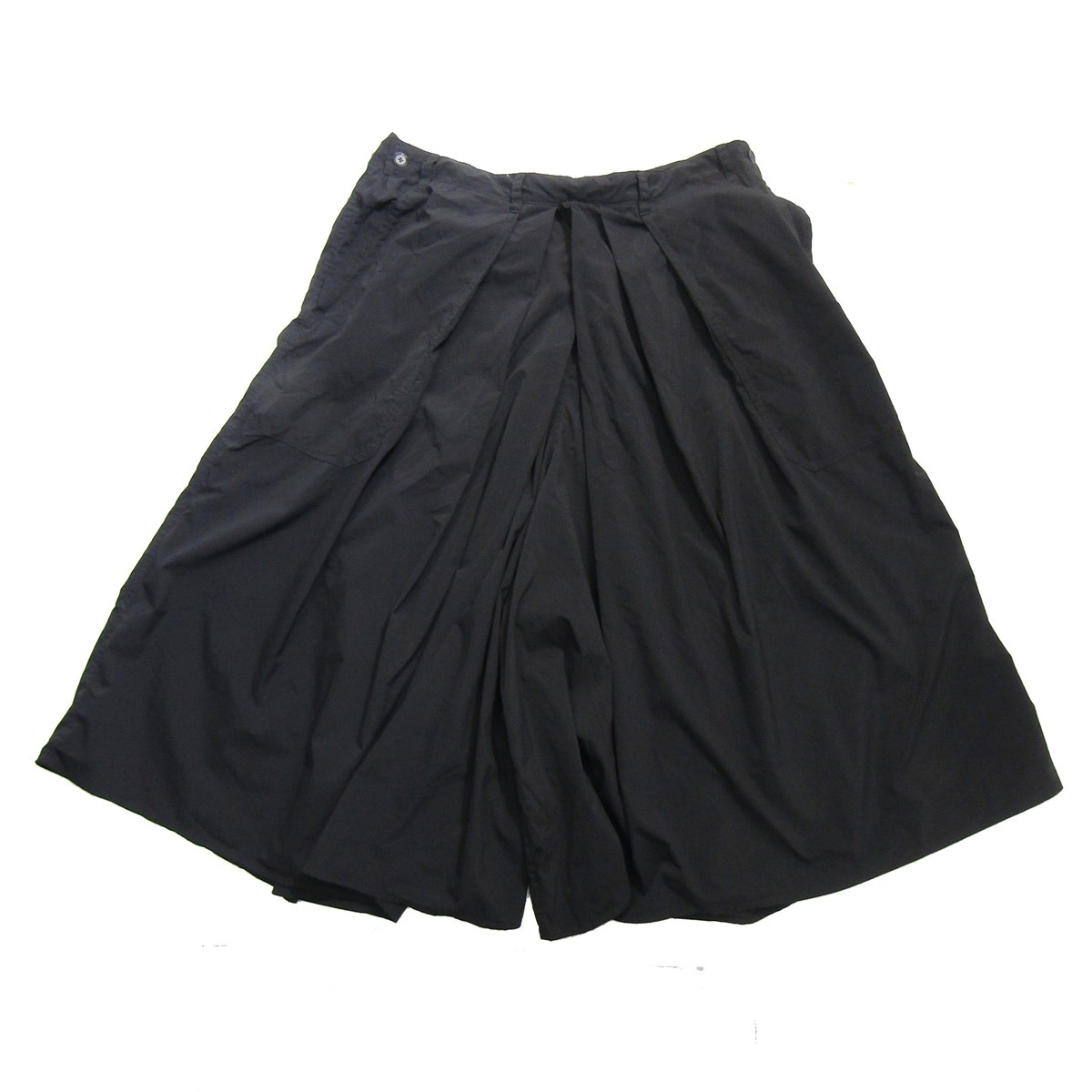 【中古】YOHJI YAMAMOTO pour homme Products Dyed Hakama Pants/製品染め加工ハカマパンツ ブラック サイズ:3 【090220】(ヨウジヤマモトプールオム)