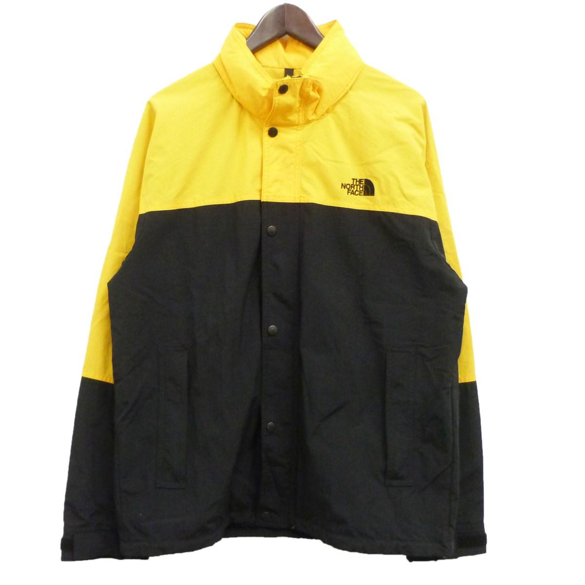 【中古】THE NORTH FACE 「Hydrena Wind Jacket」マウンテンパーカー イエロー×ブラック サイズ:L 【090220】(ザノースフェイス)