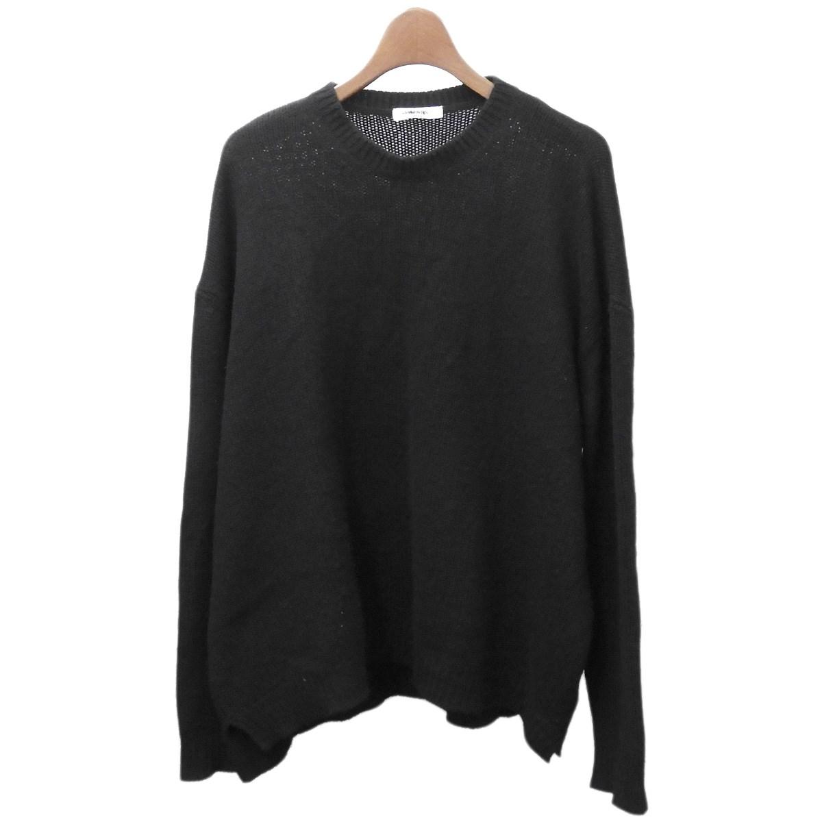 【中古】VALENTINO ニットセーター ブラック サイズ:S 【100220】(ヴァレンティノ)