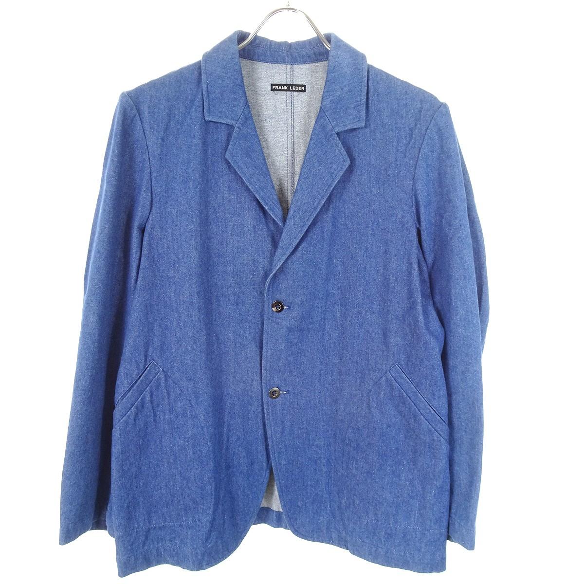【中古】FRANK LEDER デニムジャケット インディゴ サイズ:XS 【110220】(フランクリーダー)