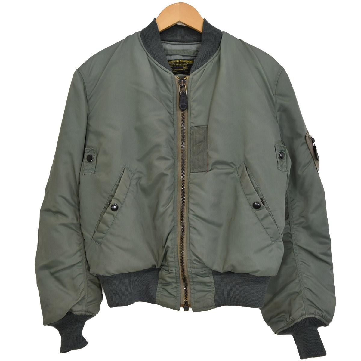 【中古】THE REAL McCOYS MA-1 ジャケット 8415-273-3969 セージグリーン サイズ:S 【120220】(リアルマッコイズ)