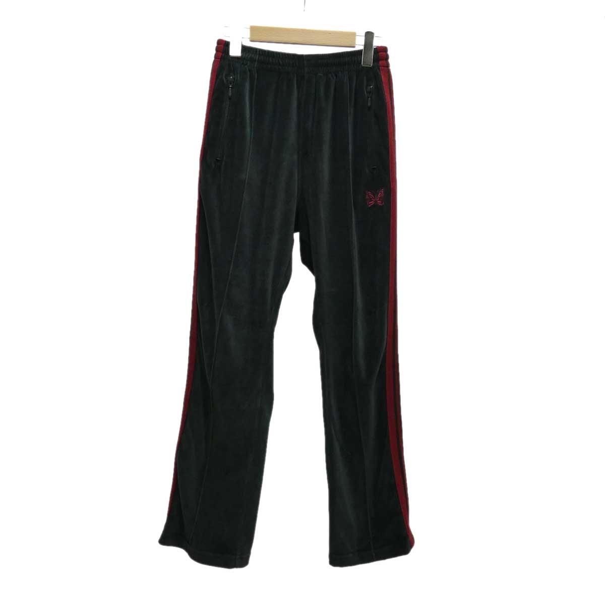 【中古】Needles Narrow Track Pants チャコールグレー サイズ:XS 【140220】(ニードルス)