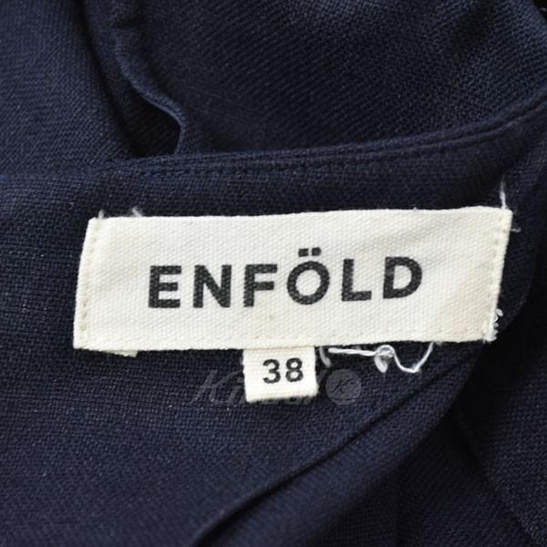 ENFOLD オールインワン ネイビー サイズ 38140220エンフォルドf7gyI6Ybv