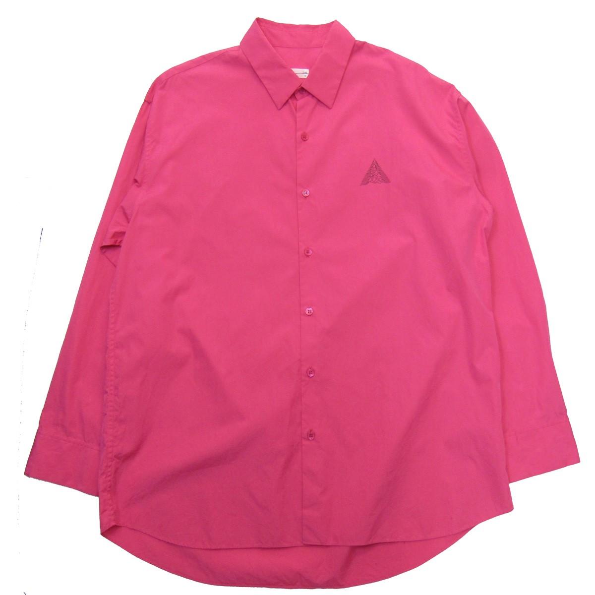 【中古】LAD MUSICIAN 19SS ビッグシャツ ピンク サイズ:46 【140220】(ラッドミュージシャン)