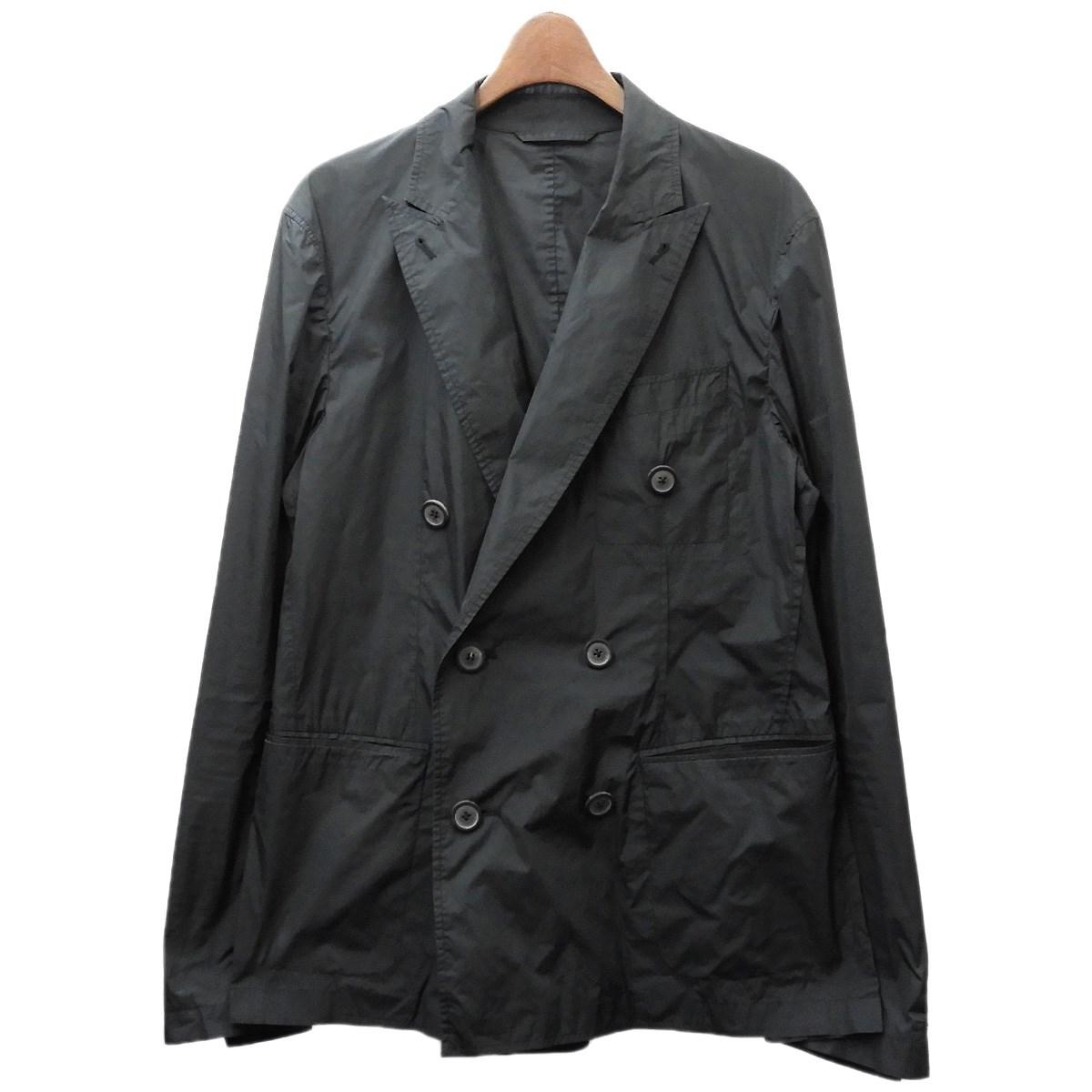 【中古】LANVIN ナイロンジャケット ブラック サイズ:44 【150220】(ランバン)