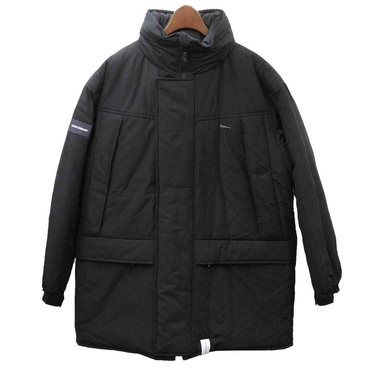 【中古】DESCENDANT 19AW 「ARCTIC PRIMALOFT JACKET」プリマロフトジャケット ブラック サイズ:1 【160220】(ディセンダント)