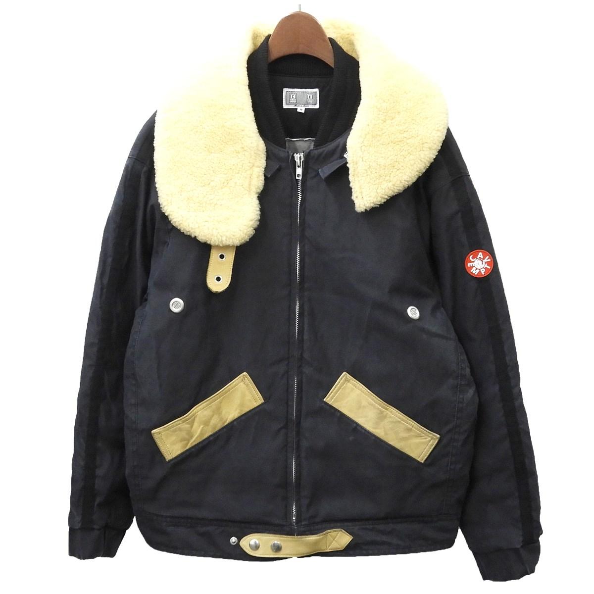【中古】C.E 19AW 「DETACH COLLAR BOMBER」ボンバージャケット ブラック サイズ:M 【160220】(シーイー)