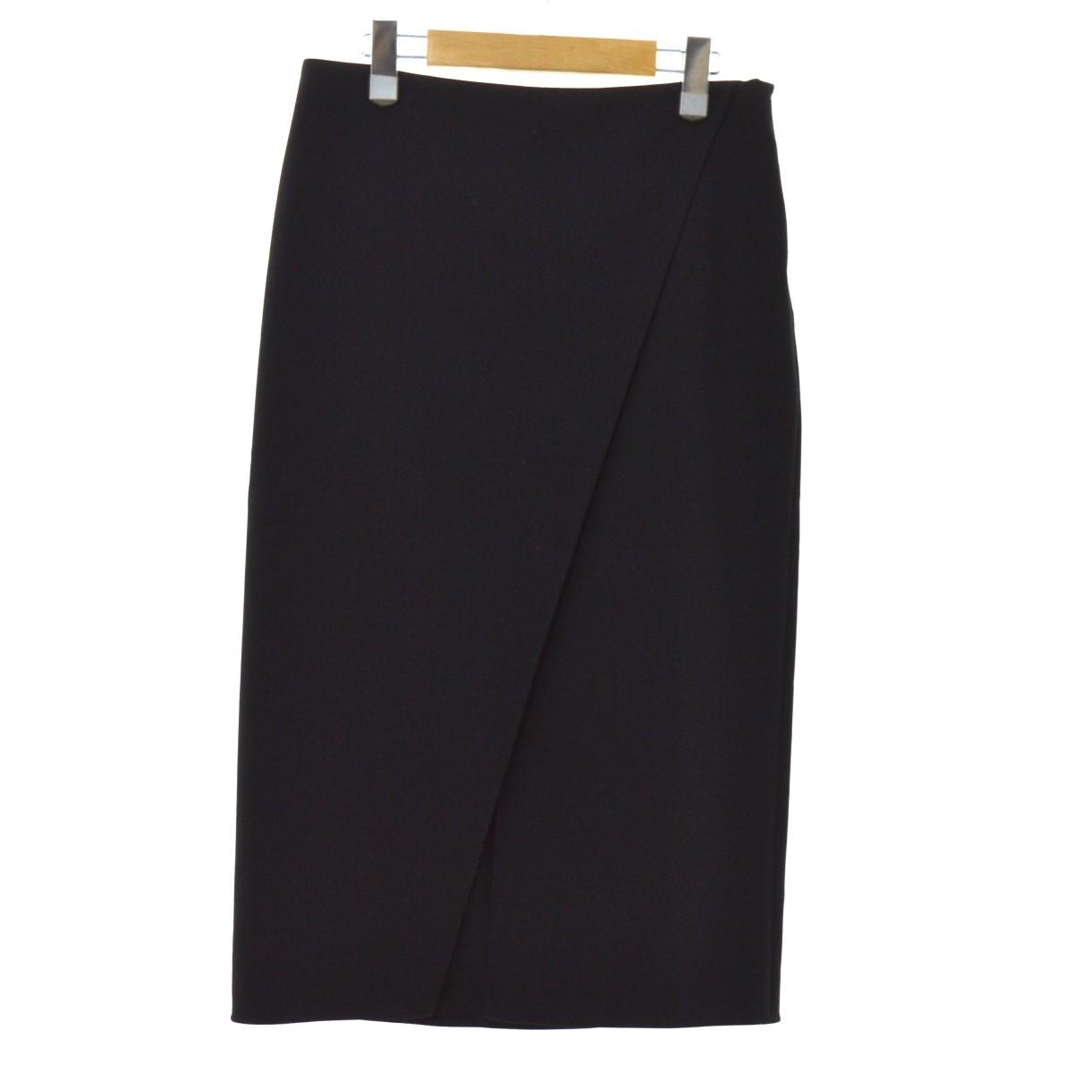 【中古】ACNE STUDIOS 17SS スカート ブラック サイズ:36 【150220】(アクネストゥディオズ)