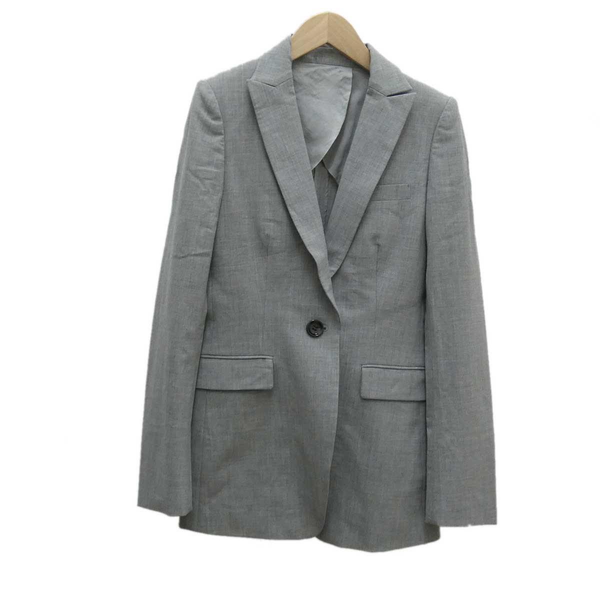 【中古】BURBERRY BLACK LABEL パンツスーツ グレー サイズ:38 【160220】(バーバリー ブラックレーベル)