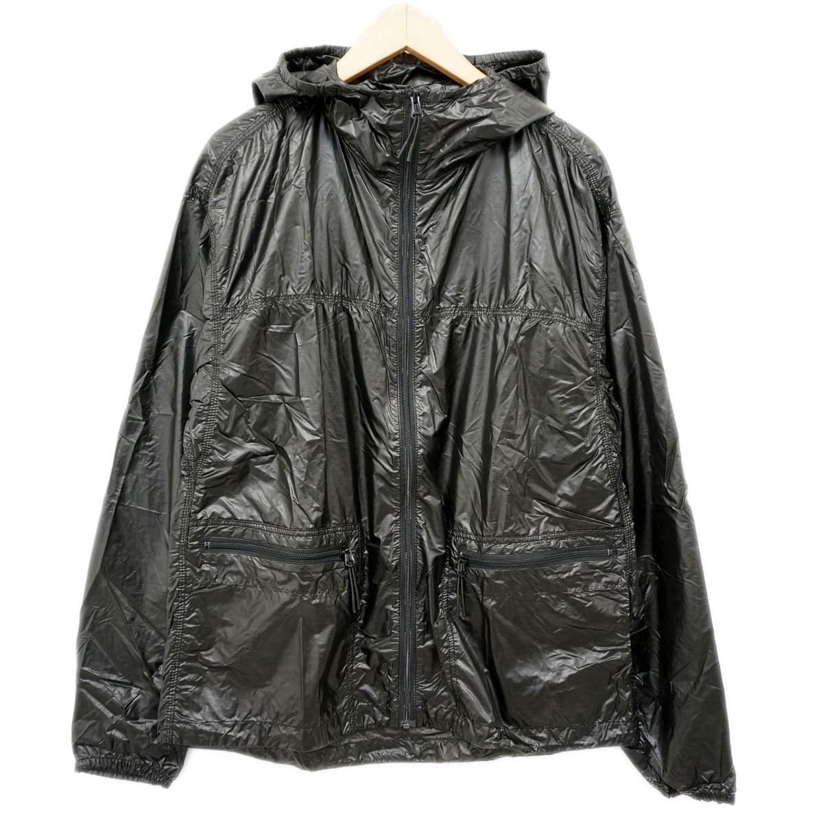 【中古】Wool rich ジップアップナイロンジャケット ブラック サイズ:L 【170220】(ウールリッチ)