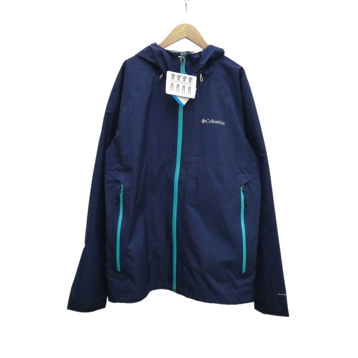 【中古】columbia ライトクレストジャケット ネイビー サイズ:L 【170220】(コロンビア)