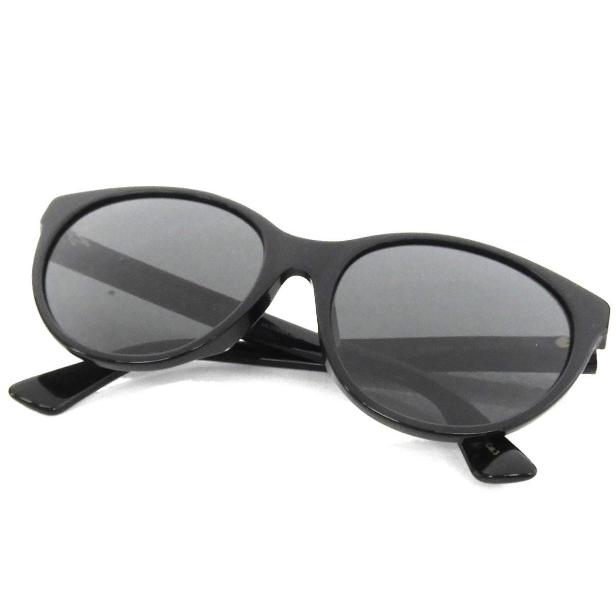【中古】GUCCI スクエアフレームアセテートサングラス ブラック サイズ:- 【190220】(グッチ)