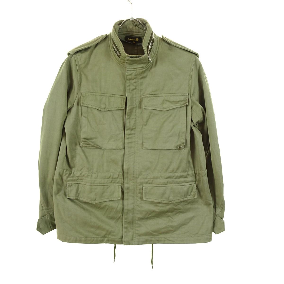 【中古】DRAWER M65ジャケット オリーブ サイズ:36 【190220】(ドゥロワー)