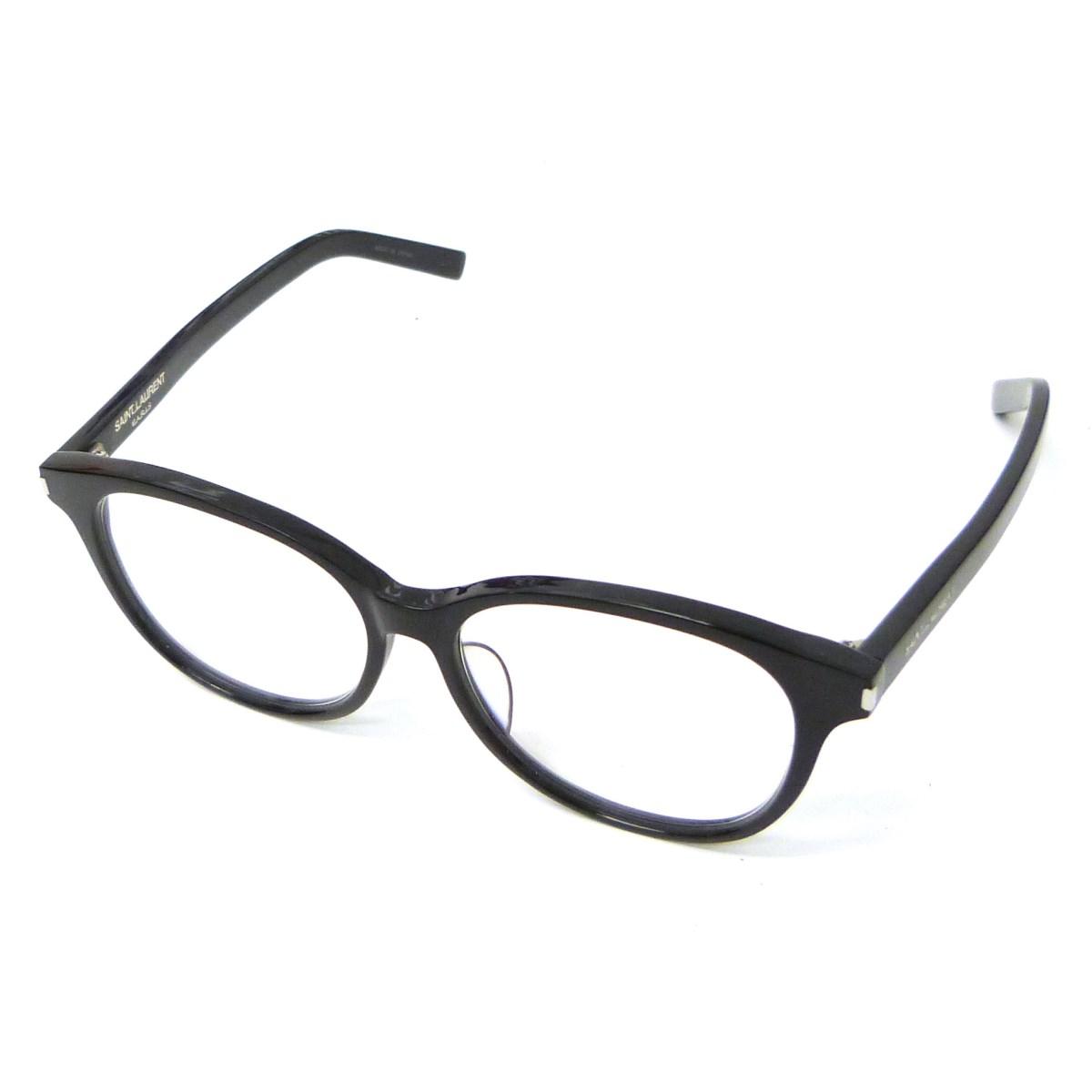 【中古】SAINT LAURENT PARIS 「CLASSIC 15/J」眼鏡 ブラック×クリア サイズ:- 【200220】(サンローランパリ)