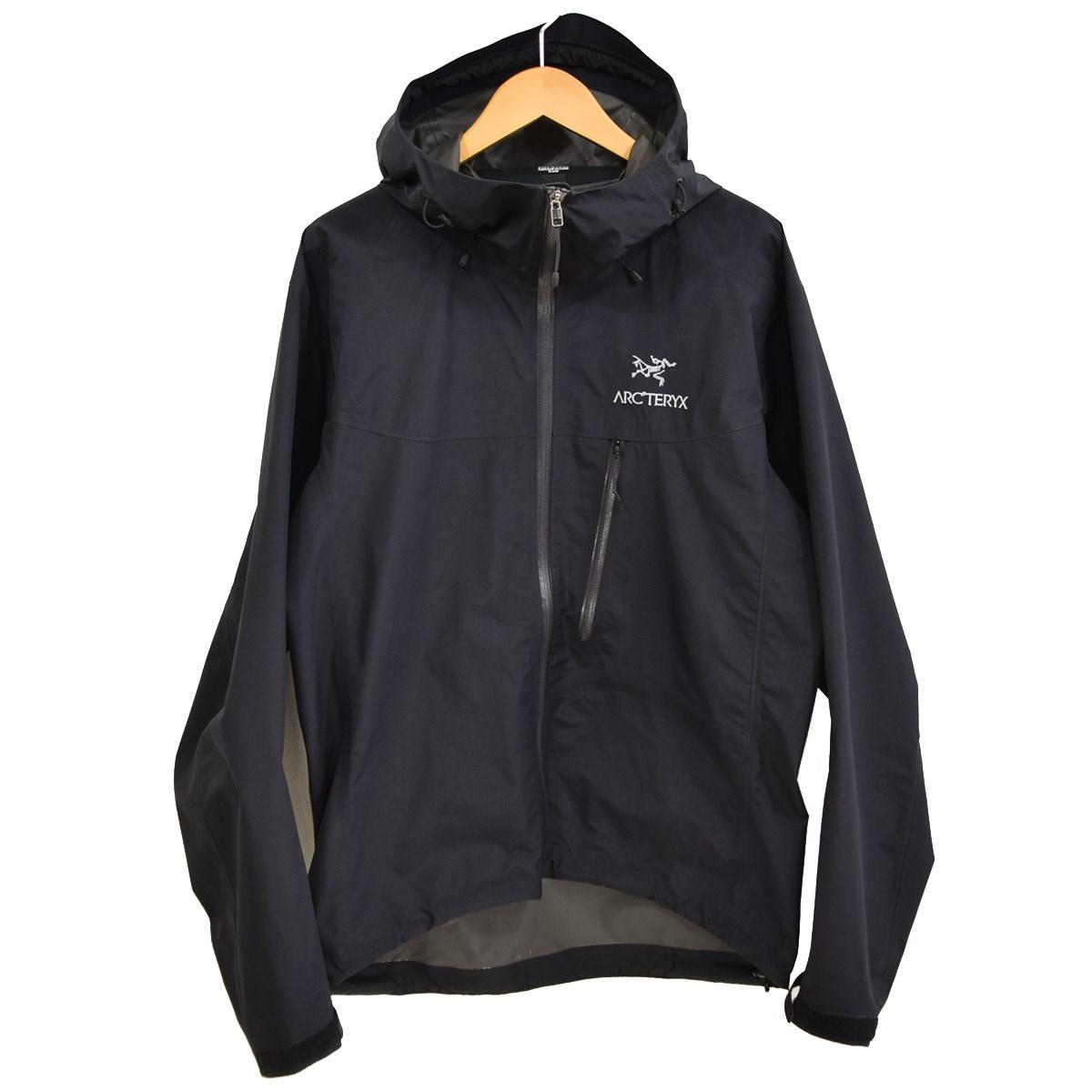 【中古】ARCTERYX Alpha SL Jacket アルファシェルジャケット ゴアテックス 15179 ブラック サイズ:M 【200220】(アークテリクス)