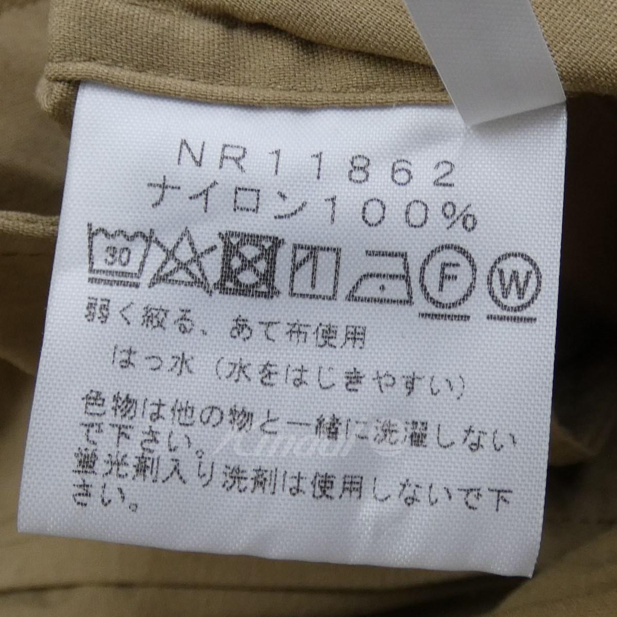 THE NORTH FACE 18SS NR11862 ユーティリティシャツコート ベージュ サイズ M210220ザノースフェイスlcKJ1F