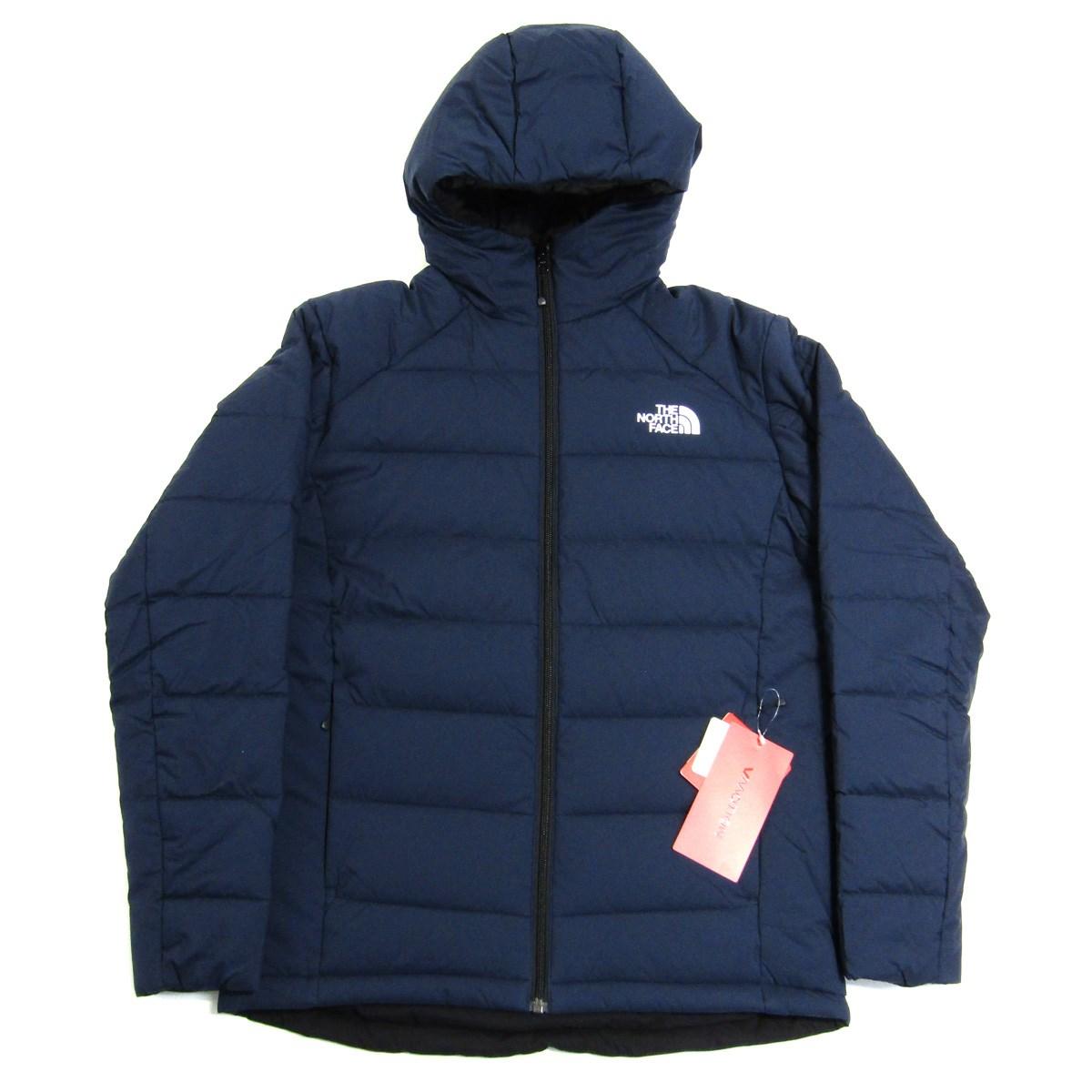 【中古】THE NORTH FACE Reversible Anytime Insulated Hoodie ダウンジャケット ネイビー サイズ:M 【210220】(ザノースフェイス)