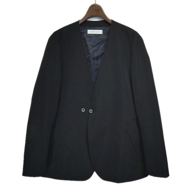 【中古】Com2ons Code ノーカラージャケット ブラック サイズ:1 【220220】(コモンスコード)