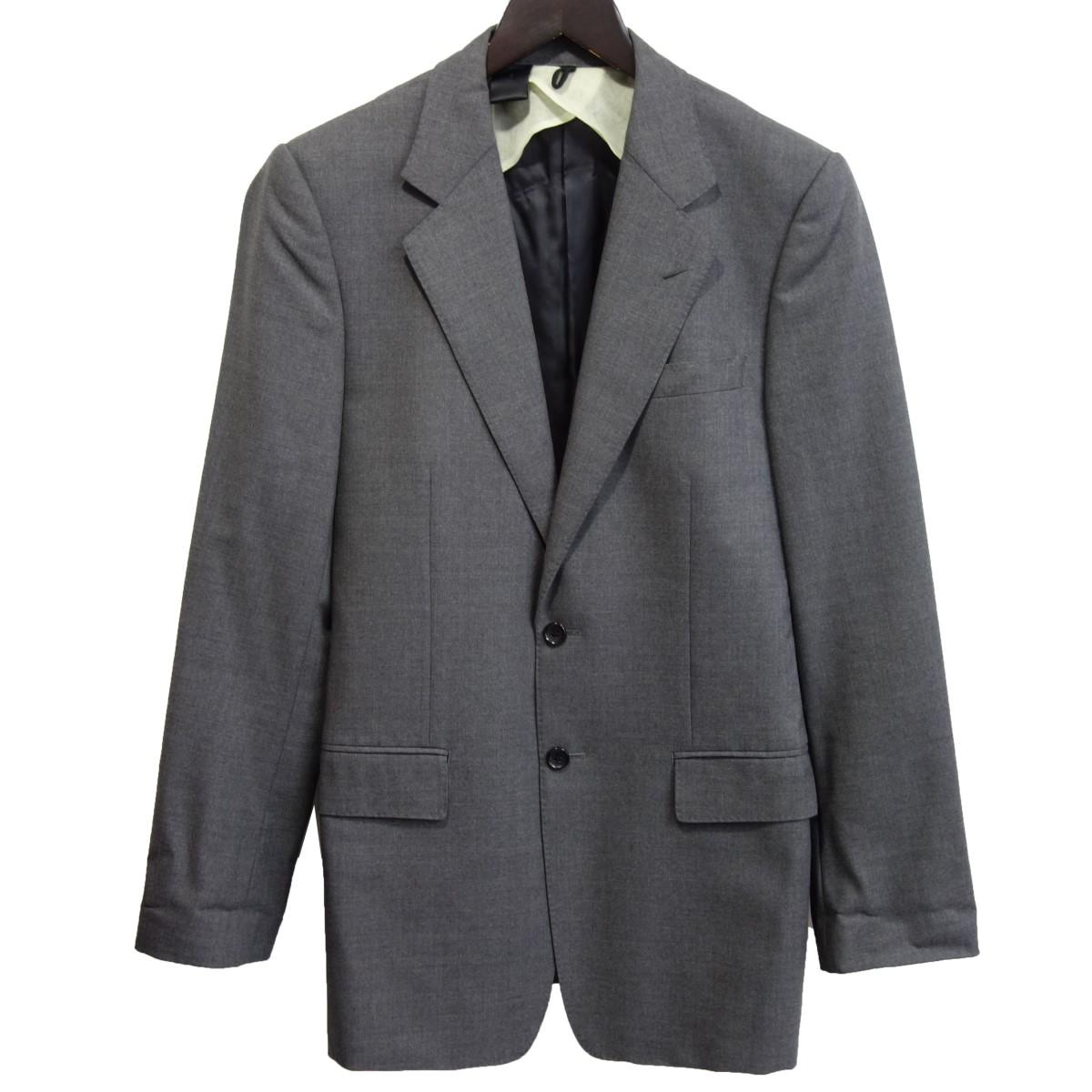 【中古】N.HOOLYWOOD 12AW テーラードジャケット グレー サイズ:38 【220220】(エヌハリウッド)