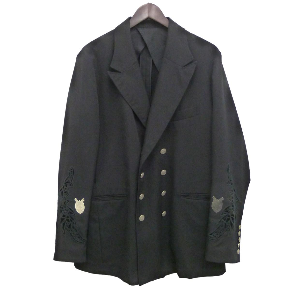 【中古】BED J.W. FORD 19SS「Double Jacket」ダブルジャケット ブラック サイズ:2 【250220】(ベッドフォード)