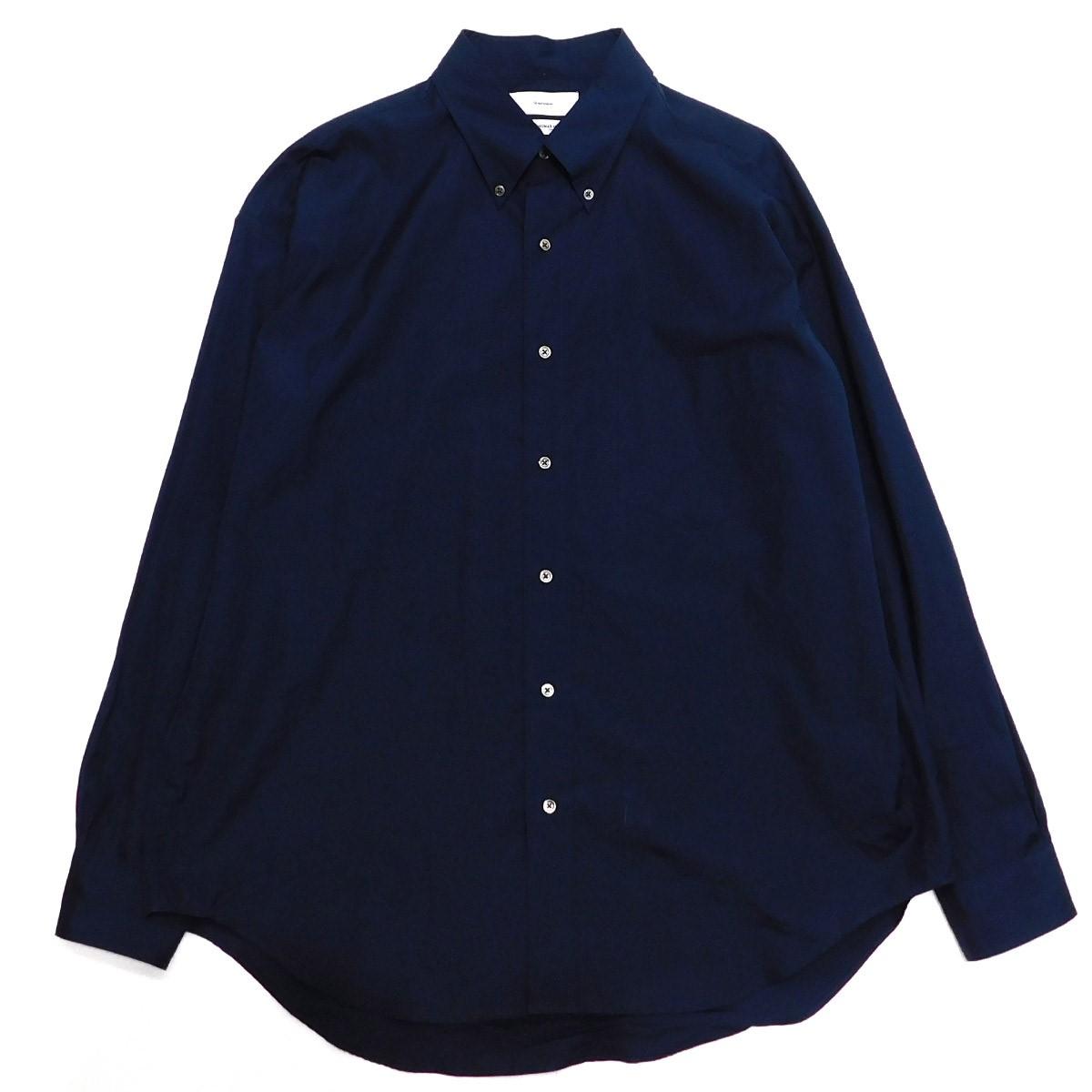 【中古】Graphpaper 19AW THOMAS MASON L/S B.D Box Shirt ネイビー サイズ:2 【250220】(グラフペーパー)