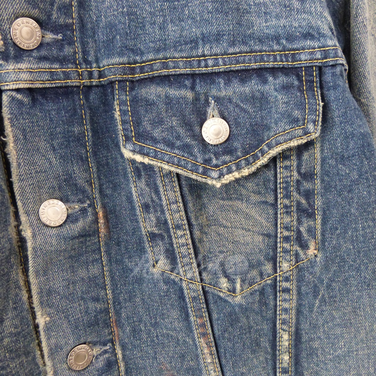 MINEDENIM 18AW 3RD Type Denim JKT 3rdデニムジャケット Gジャン インディゴ サイズ 2280220マインデニム2DeYbHIW9E
