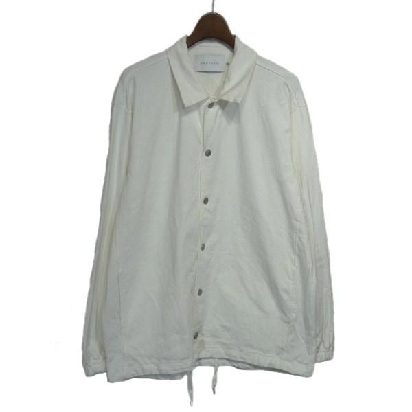 【中古】CURLY 「Delight Coach Jacket」コットンコーチジャケット ホワイト サイズ:2 【280220】(カーリー)