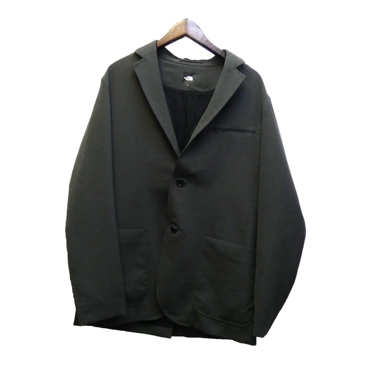 【中古】THE NORTH FACE NR21961R ポリテーラードジャケット グレー サイズ:L 【280220】(ザノースフェイス)