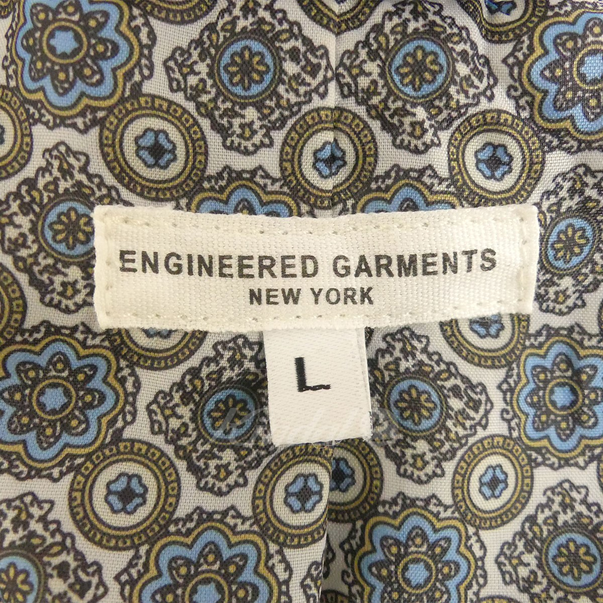 Engineered GarmentsAndover Jacket Navy Cotton Seersuckerテーラードジャケット ブルー サイズ L5月14日見直しWIeDbEH92Y