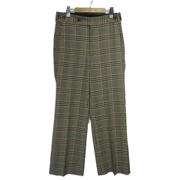 【中古】Needles 2019AW「Side Tab Trouser-Pe/R Graph Plaid Twill」パンツ ベージュ サイズ:XS 【290220】(ニードルス)