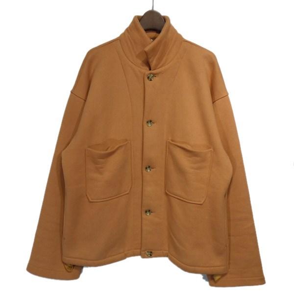 【中古】FUKAMI 2017AW スウェットジャケット オレンジ サイズ:L 【290220】(フカミ)