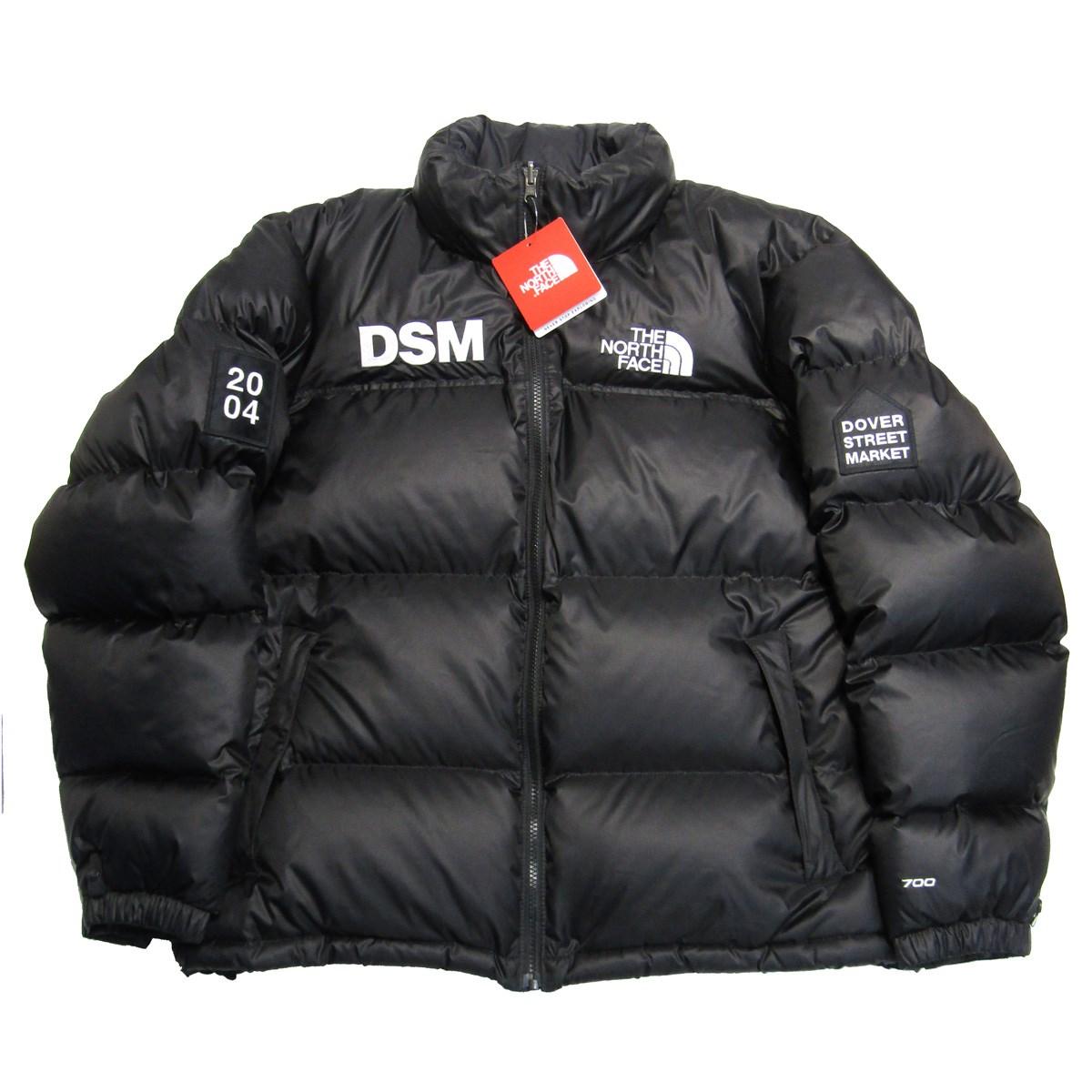 【中古】THE NORTH FACEDSM別注 Nuptse Jacket ヌプシ ダウンジャケット ブラック サイズ:L 【4月2日見直し】