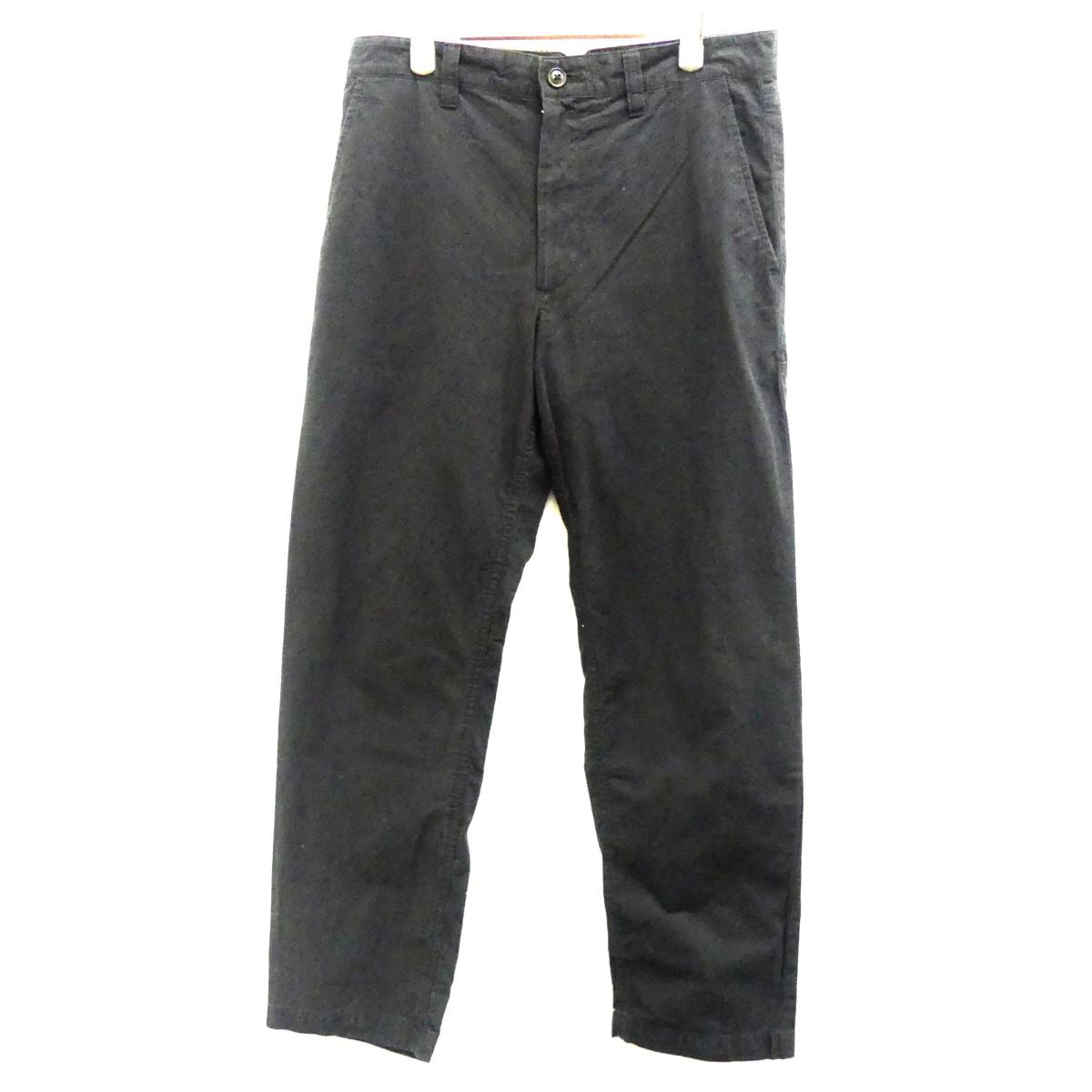 【中古】Porter Classic LOCAL BLACK PANT ローカルブラックパンツ ブラック サイズ:M 【010320】(ポータークラシック)