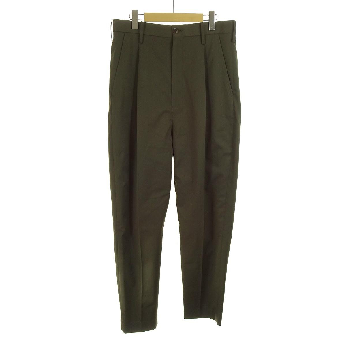 【中古】doublet High Waist Wide Tapered Trousers オリーブ サイズ:M 【010320】(ダブレット)