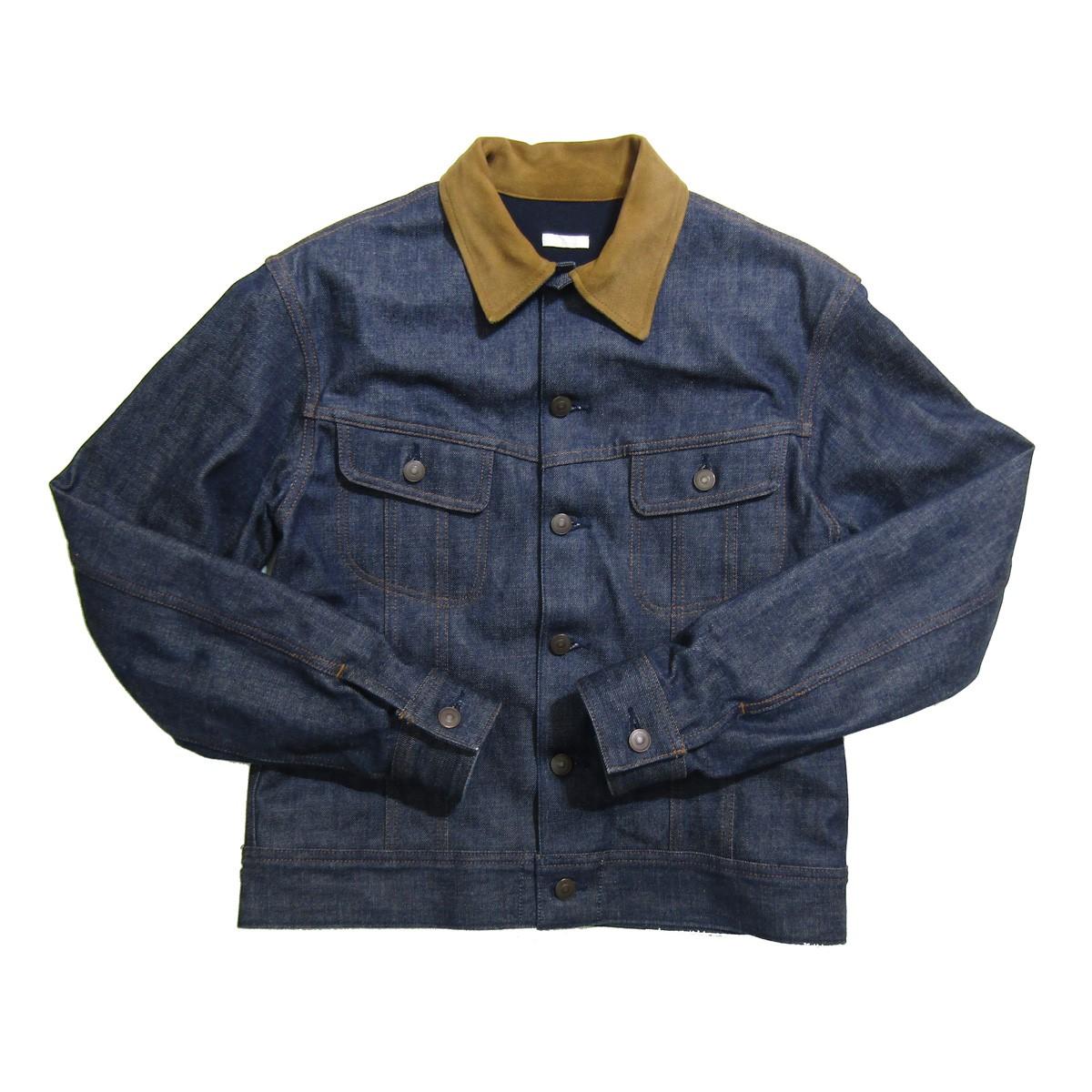 【中古】COMOLI G.I.ジャケット/デニムジャケット インディゴ サイズ:2 【010320】(コモリ)