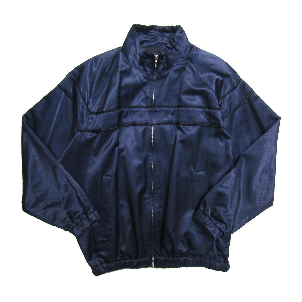 【中古】SUBTLE authentic ミリタリートラックジャケット ネイビー サイズ:02 【010320】(サートルオーセンティック)
