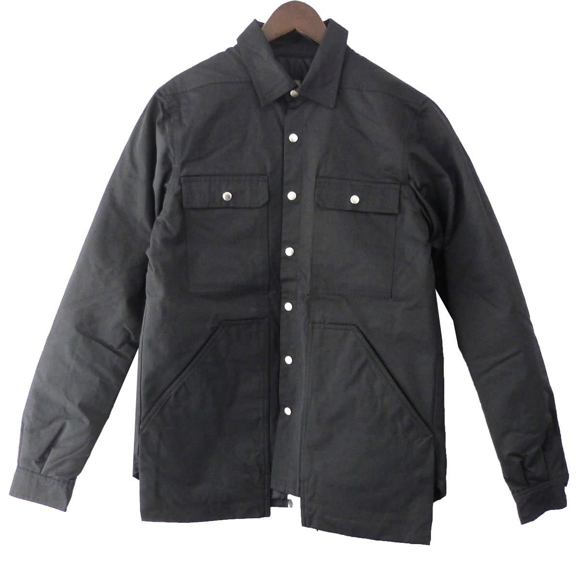 【中古】DRKSHDW 19AW「CARGO OUTER SHIRT」カーゴアウターシャツ ブラック サイズ:S 【030320】(ダークシャドウ)