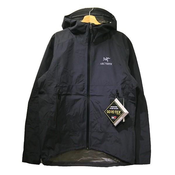 【中古】ARCTERYX Zeta SL Jacket ゴアテックスマウンテンパーカー ブラック サイズ:L 【030320】(アークテリクス)