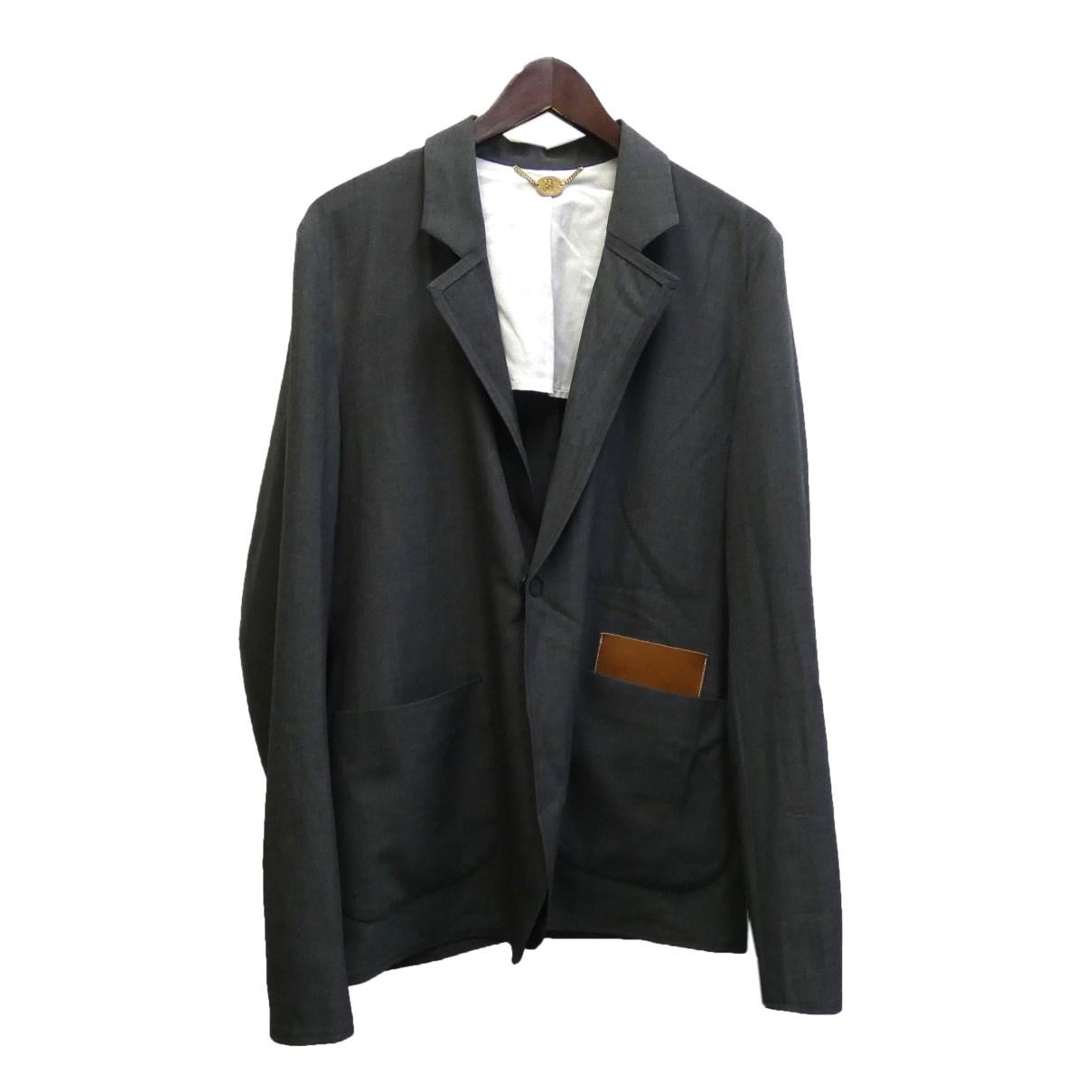 【中古】SUNSEA 18SS 「SNM BLUE-JACKET」 ジャケット グレー サイズ:2 【040320】(サンシー)