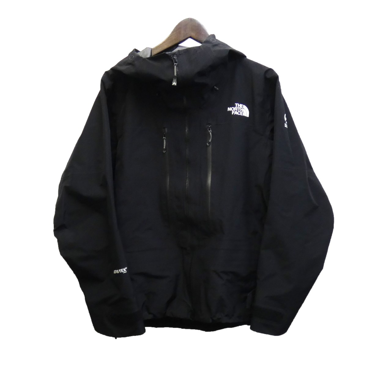 【中古】THE NORTH FACE SUMMIT SERIES 「GTX Pro Jacket」 NP61711 マウンテンパーカー ブラック サイズ:XS 【040320】(ザノースフェイス)