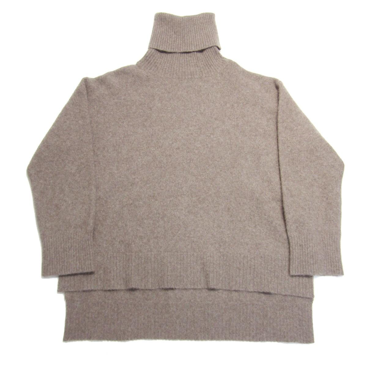 【中古】Loungedress ヤク100タートルネックニット セーター ブラウン サイズ:Free 【040320】(ラウンジドレス)