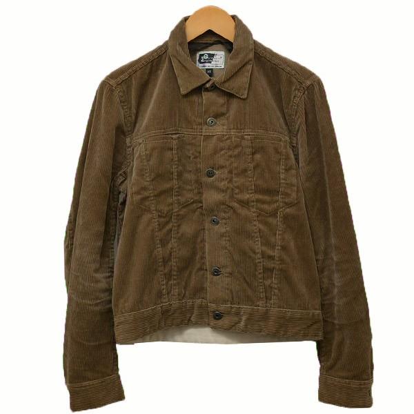 【中古】Engineered Garments コーデュロイジャケット ブルゾン トラッカージャケット ベージュ サイズ:XS 【040320】(エンジニアードガーメンツ)
