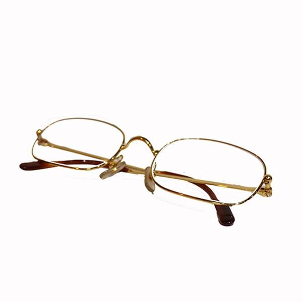 【中古】Cartier トリニティ メガネ 眼鏡 ゴールド サイズ:54□21 【040320】(カルティエ)