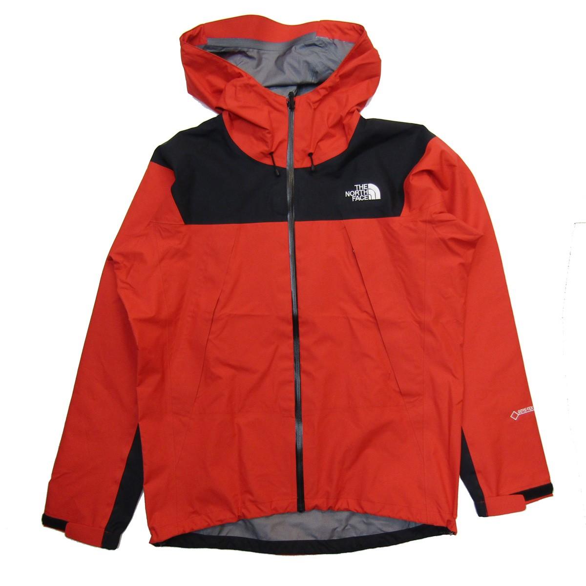 【中古】THE NORTH FACE Climb Light Jacket ナイロンジャケット レッド サイズ:S 【050320】(ザノースフェイス)